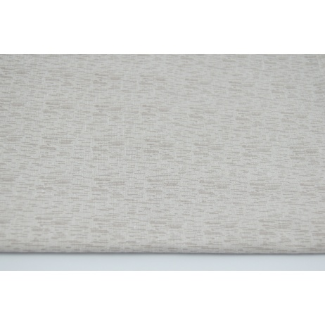 Cotton 100% beige - linen