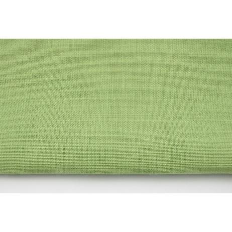 100% plain linen in light grren color