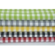 Cotton 100% double-sided black vichy check 1cm (2)