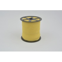 Cotton edging ribbon mustard