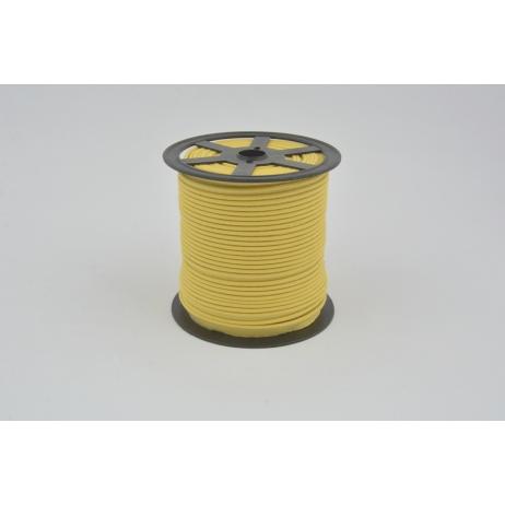 Cotton edging ribbon mustard