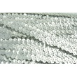 Taśma cekinowa srebrna 20mm, elastyczna