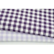 Cotton 100% double-sided dark violet vichy check 1cm (2)