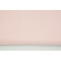 Double gauze 100% cotton plain candy pink