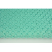 Dimple dot fleece minky emerald color (2) 380g/m2