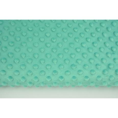 Dimple dot fleece minky emerald color (2) 380g/m2