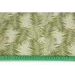 Home Decor, green palm leaves on a natural background 220g/m2