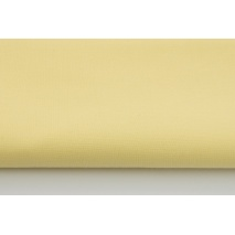 Cotton 100% plain light yellow 155 g/m2