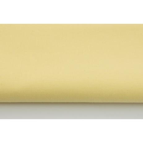 Bawełna 100% jasny żółty, jednobarwna