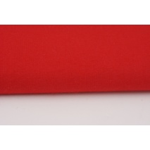 Bawełna 100% czerwona jednobarwna 120g/m2