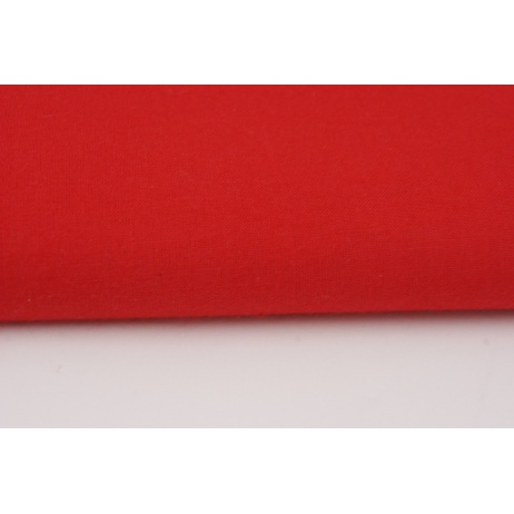 Cotton 100% plain red 120g/m2