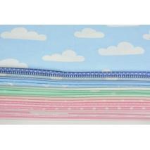 Fabric bundles No. 37 A 80x140cm