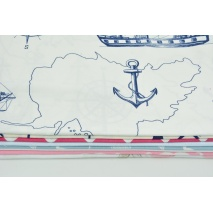 Fabric bundles No. 423 KO 30x150cm