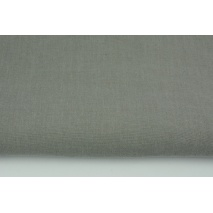 100% plain linen in a warm gray color, softened