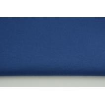 Gruba tkanina odzieżowa bawełna z elastanem, ciemny niebieski
