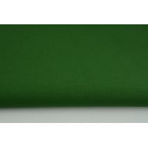 Gruba tkanina odzieżowa bawełna z elastanem, ciemny zielony
