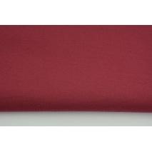 Gruba tkanina odzieżowa bawełna z elastanem, kolor buraczkowy