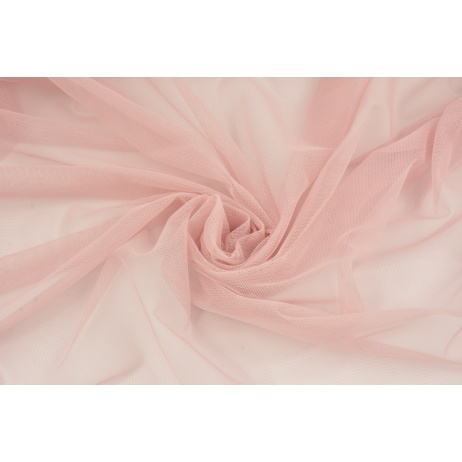 Soft tulle, powder dirty pink