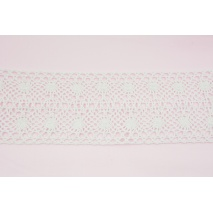 Cotton lace 90mm, white