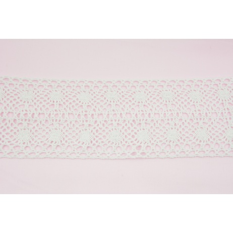 Cotton lace 90mm, white