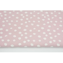 Cotton 100% white spots on a dirty heather background PREMIUM
