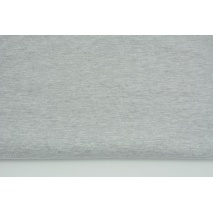 Knitwear, jersey fabric in the sleeve, plain light gray (melange)