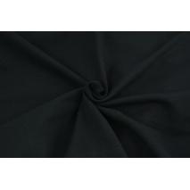 Looped knitwear plain black