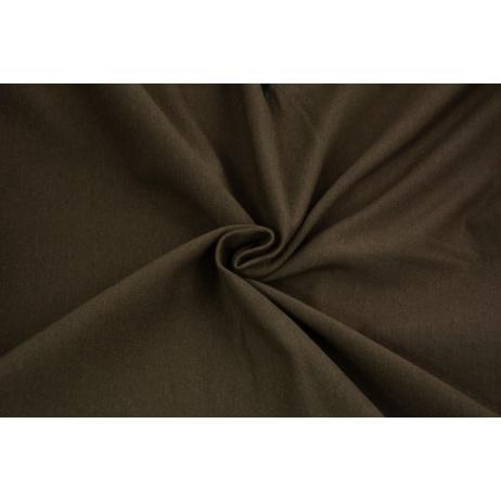 Looped knitwear plain brown