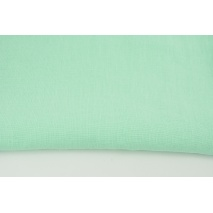 100% plain linen in a mint color, softened