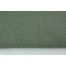 Dzianina, dresówka pętelkowa khaki jednobarwna (odcień ciemniejszy)