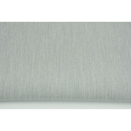 Tkanina odzieżowa, szara jednobarwna 310g/m2