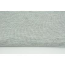 Dzianina wiskoza z elastanem, szary melanż 230g/m2