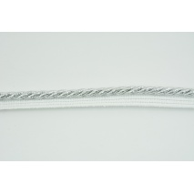 Silver 7mm Cord with Ribbon