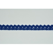 Cotton lace 15mm in cornflower color