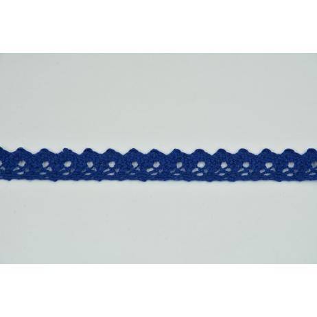 Cotton lace 15mm in cornflower color