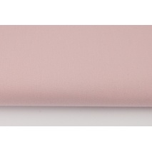 Drill, 100% cotton fabric in a plain powder dirty pink colour II quality
