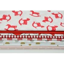 Fabric bundles No 218 AEO 20x140 cm