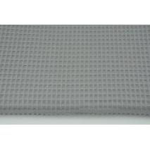 Cotton 100% waffle, dark gray CZ