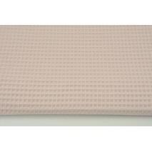 Cotton 100% waffle, powder dirty pink CZ