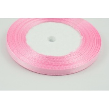 Ribbon sateen pink 6mm 30m