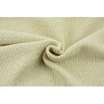 70% poliester 30% wełna, tkanina z fakturą - naturalna