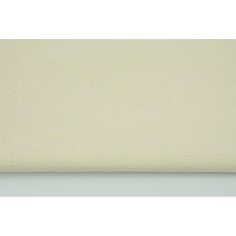 HOME DECOR plain natural, creme 100% cotton 250 g/m2