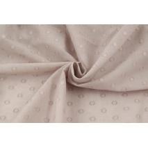 Cotton 100%, plumeti with dots, cardamom