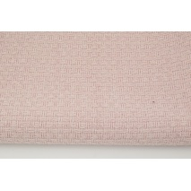 70% polyester 30% wool, fabric with a texture, plain dirty pink