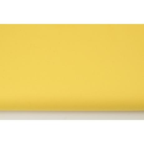 Bawełna 100%, drelich żółty jednobarwny
