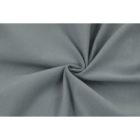 Looped knitwear plain graphite