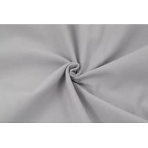 Looped knitwear plain light gray