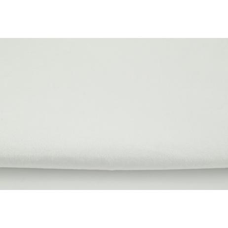 Plain creamy fleece minky