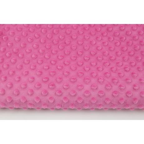 Polar z wytłaczanymi bąbelkami minky piękny róż 380g/m2