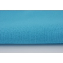 Cotton 100% plain intensive turquoise